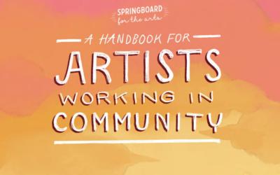 Handbook for Artists Working in Community