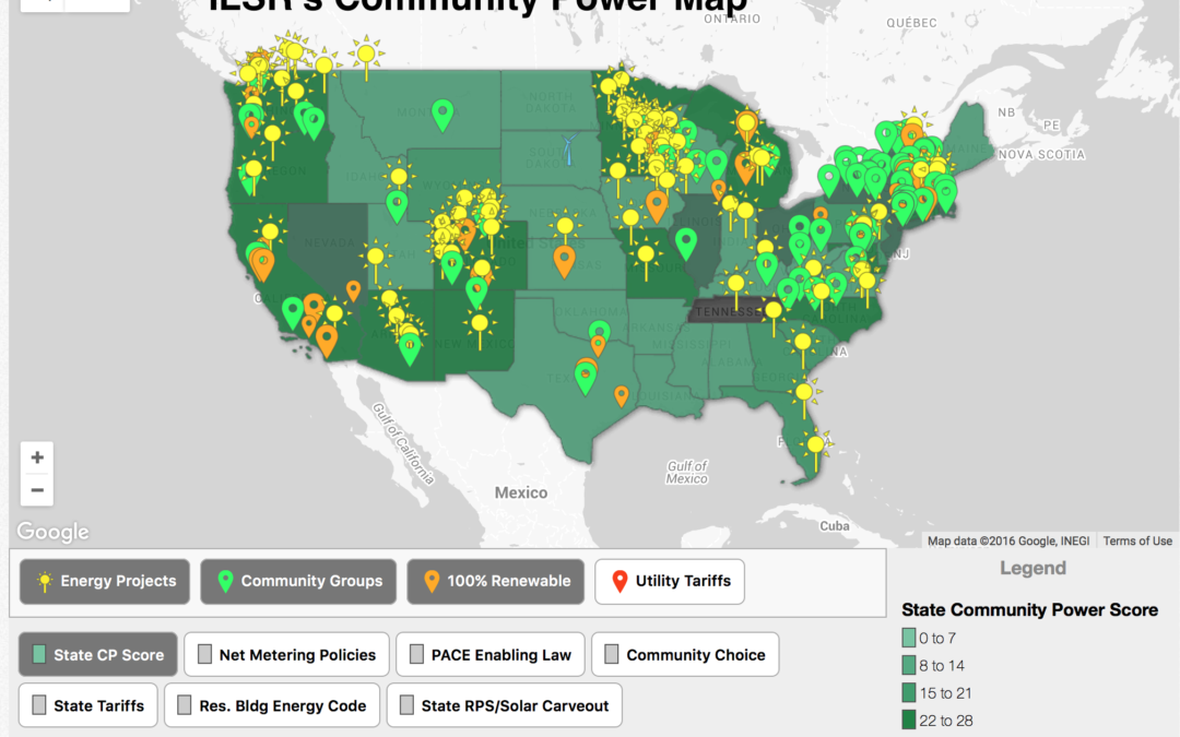 Community Power Map