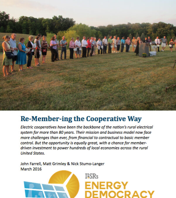 Report: Re-Member-ing the Electric Cooperative