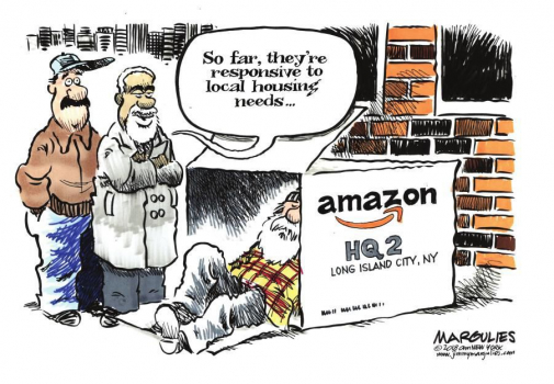 New Economy Roundup: What Has Amazon Done? Who Tells Our News? What Are Banks For?