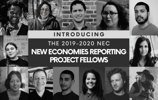 New Economies Reporting Project Announces 2019/2020 Finance Solutions Fellows!