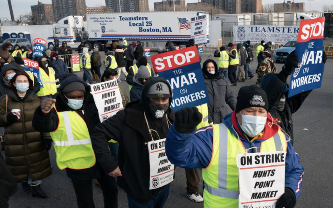 New Economy Roundup: Strike Wave, Biden's First 100 Days, Worker Co-op Foundations