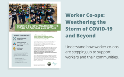 Worker Co-Ops: Weathering The Storm Of COVID-19