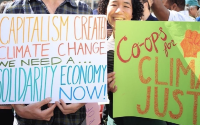 New Economy Roundup: Climate Crisis & the Solidarity Economy, Creative Wildfire Manifesto, Another World is Happening