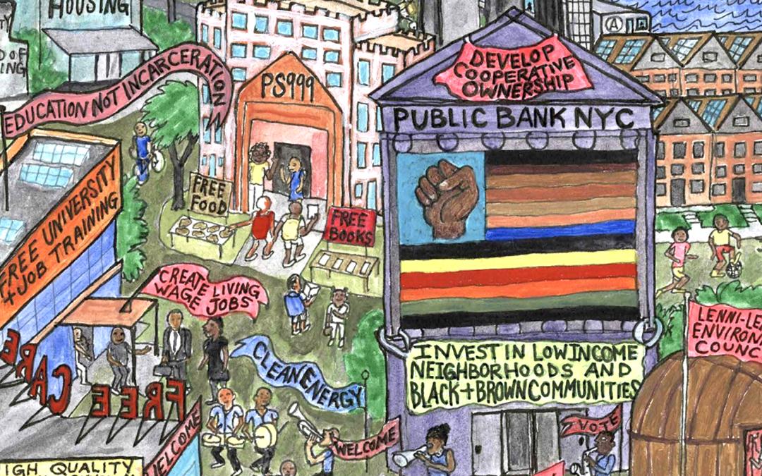 New Economy Roundup: Public Banking Act, #CancelRent, Building Solidarity Economy Ecosystems