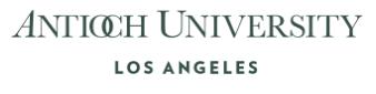 Urban Sustainability MA Program (USMA), Antioch University